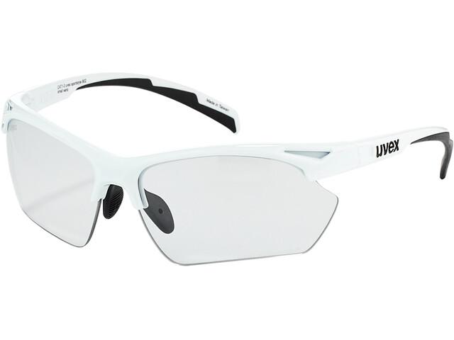 UVEX Sportstyle 802 V Occhiali sportivi S Donna, white/smoke